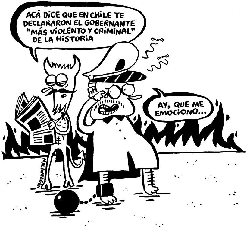 Pinochet 10 Anos Despues La Tercera